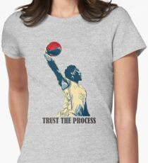embiid trust the process Womens Fitted T-Shirt