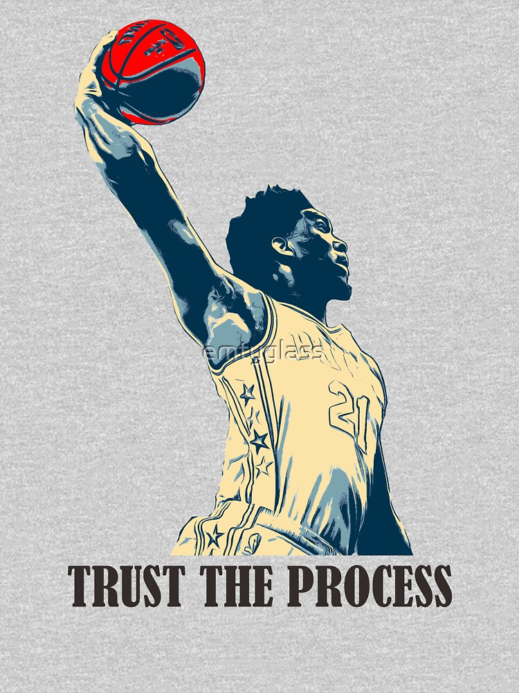 embiid trust the process | Unisex T-Shirt