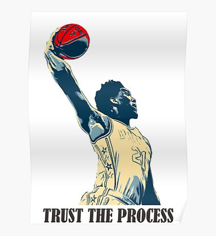 embiid trust the process Poster