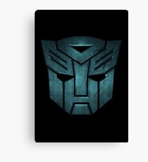 Transformers decepticon Canvas Print