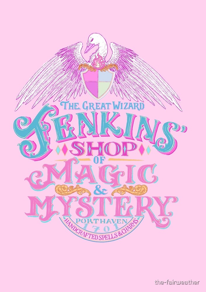 The Great Wizard Jenkins' Shop of Magic and Mystery by the-fairweather