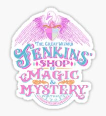 The Great Wizard Jenkins' Shop of Magic and Mystery Sticker