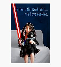 Sci Fi Girl Gone Bad Photographic Print