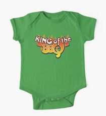 King of the BBQ One Piece - Short Sleeve