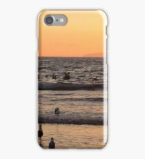 Sunset at Newport Beach iPhone Case/Skin