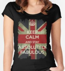 Stay Absolutely Fabulous Women's Fitted Scoop T-Shirt