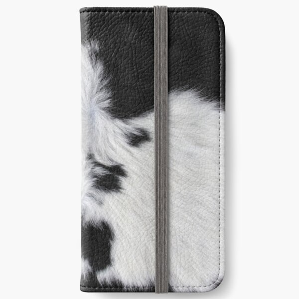 Cowhide Patch iPhone Wallet