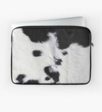 Cowhide Patch Laptop Sleeve