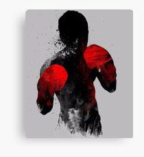 Lienzo Delantero: Boxeo, Muay Thai Kickboxing, MMA T-shirt