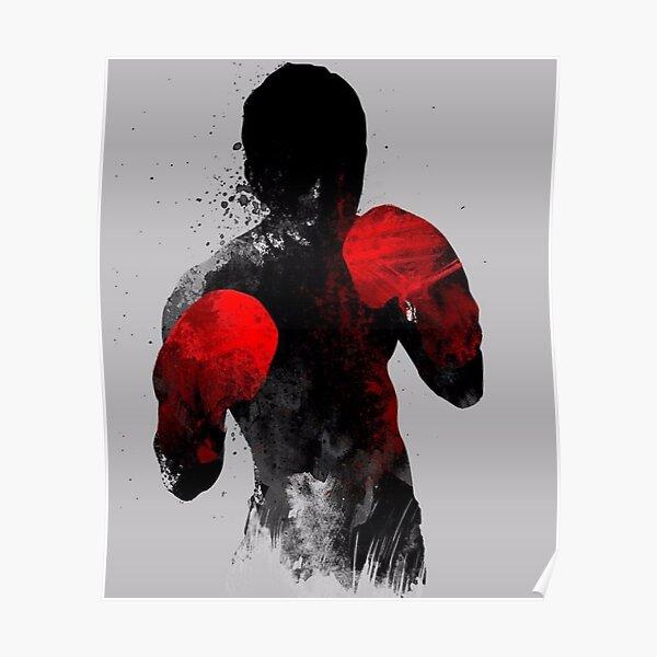 Striker: Boxing, Muay Thai Kickboxing, MMA T-shirt Poster