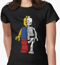 """""""Lego anatomy"""" Womens Fitted T-Shirt"""