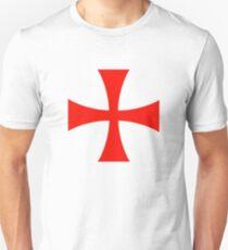 Templar Cross Symbol Unisex T-Shirt