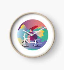 BikeLover Clock