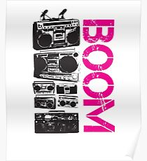 Boombox Stereo  Poster