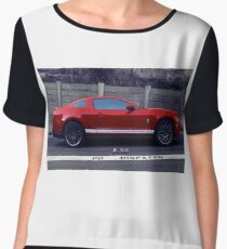 Red Stang - Bay Area Chiffon Top