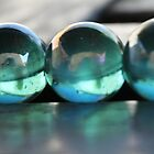 Studies in Glass ....marbles by LynnEngland
