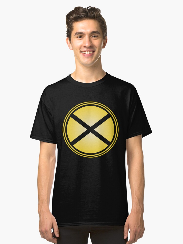 Railroad Crossing Train Lover Classic T-Shirt Front
