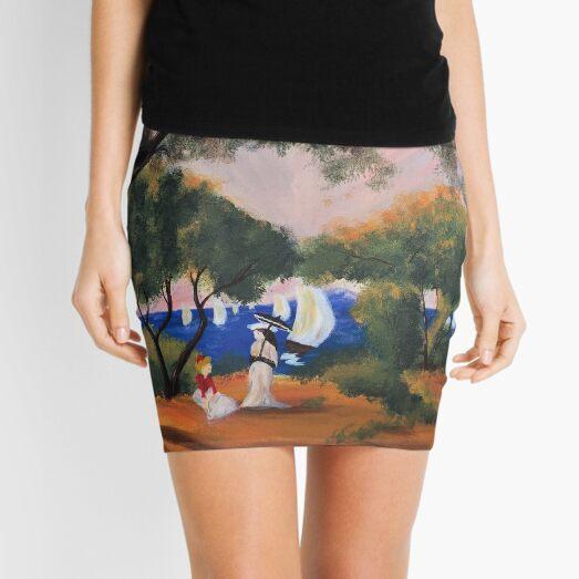Noirmoutier after Renoir Mini Skirt