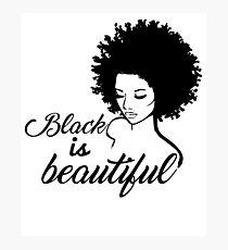 Black Is Beautiful Photographic Print