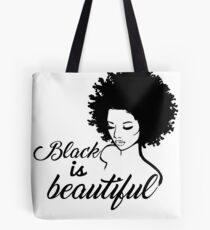 Black Is Beautiful Tote Bag