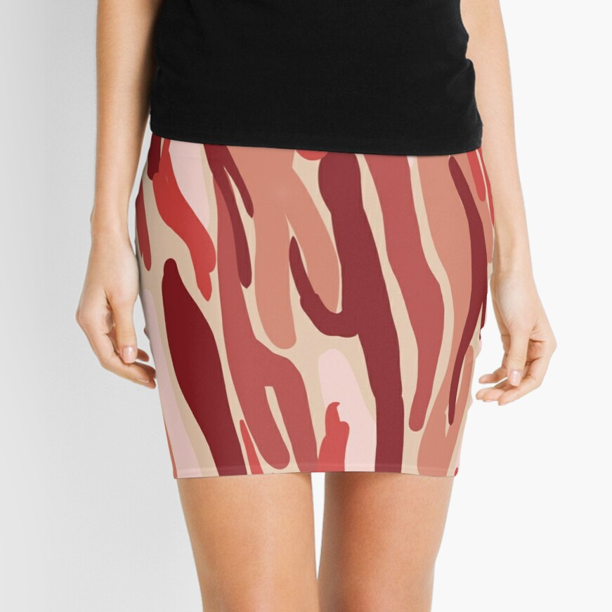 Bacon Mini Skirt Front