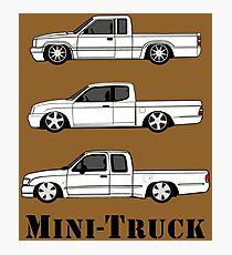 Mini Truck Photographic Print