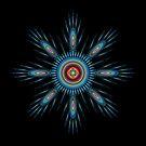 Cosmic  Mandala by Ann  Van Breemen