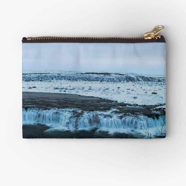 Faxi Waterfall Zipper Pouch