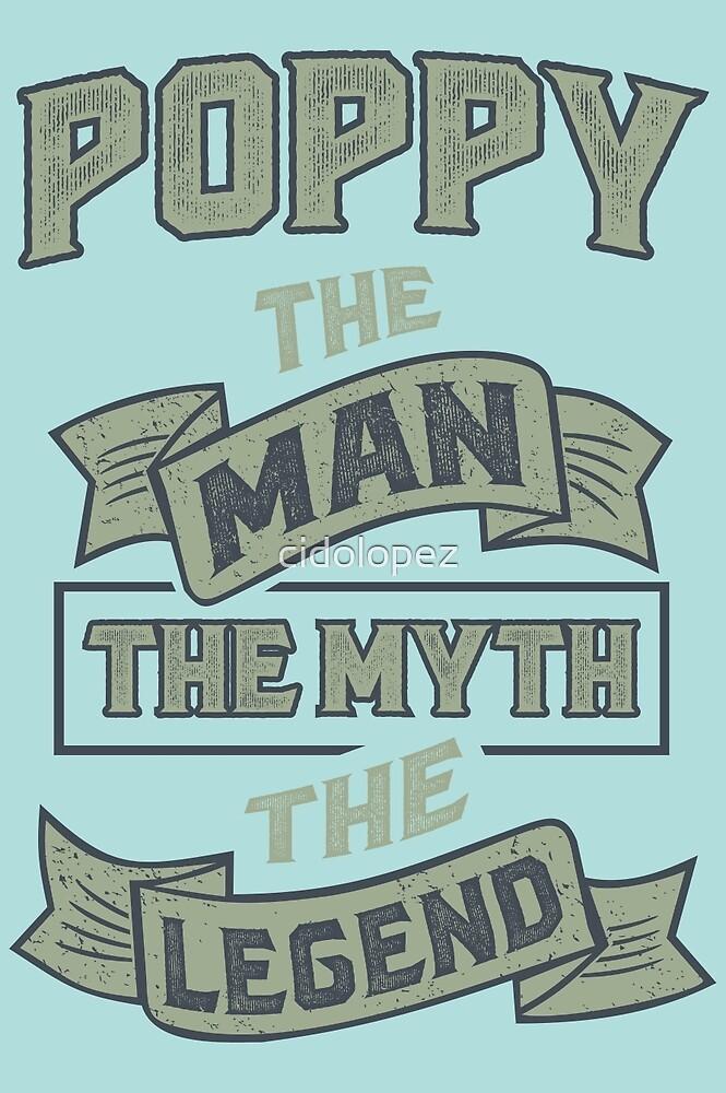 Poppy The Myth T-shirts Gifts by cidolopez