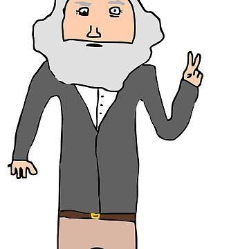 Karl Marx by AlexAdamsonArt
