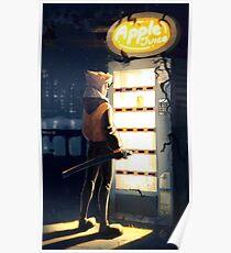 Verkaufsautomat Poster