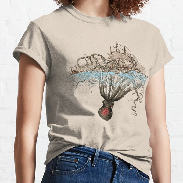 Beware the Kraken! Classic T-Shirt