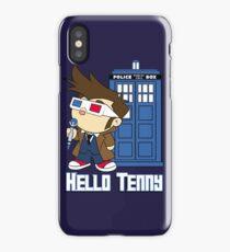 Hello Tenny iPhone Case