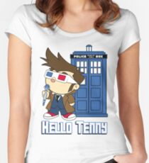 Hello Tenny Women's Fitted Scoop T-Shirt