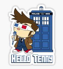 Hello Tenny Sticker