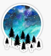 Nordlicht Sticker
