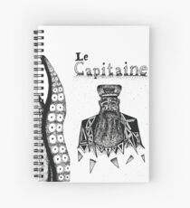 Le Capitaine Spiral Notebook
