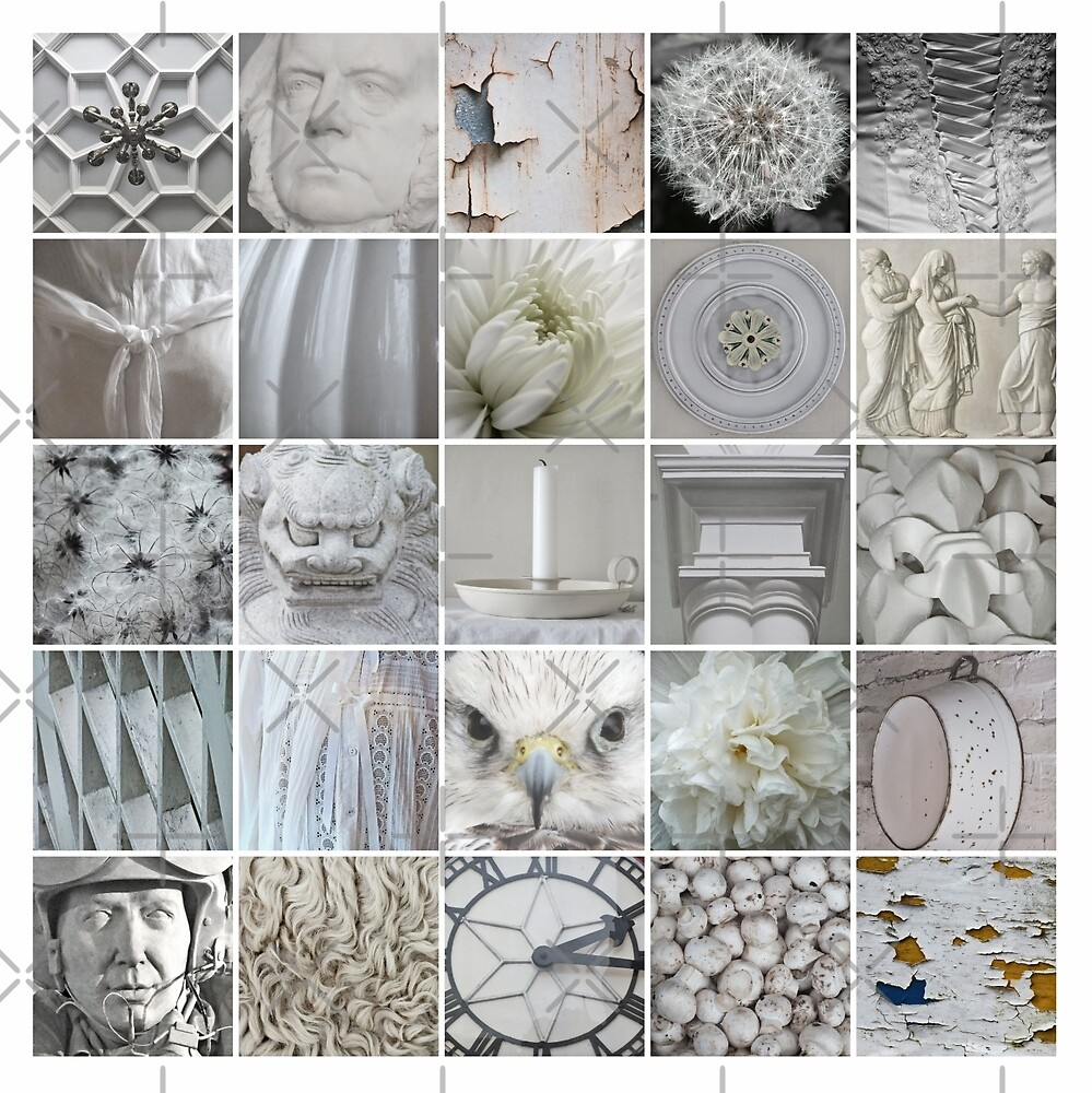 25 Things White  by Yampimon