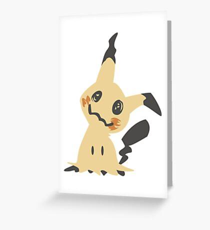 Mimikyu Greeting Card