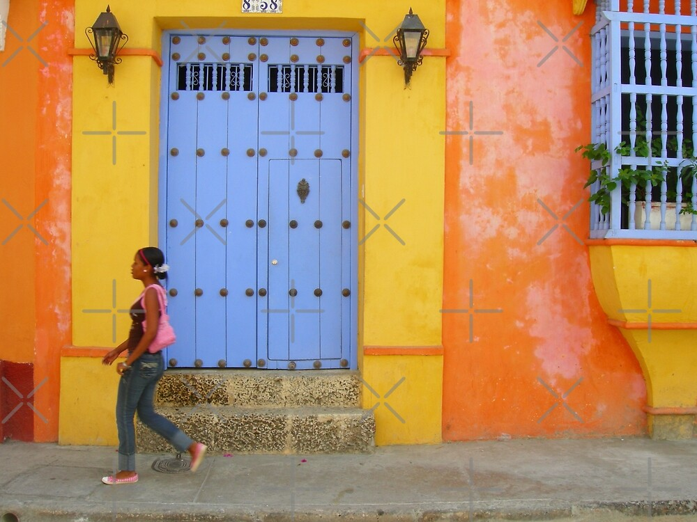 Colonial Style with Colorful Touch by Alessandro Pinto