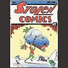 Christmas Grinch Action Comics by Dansmash