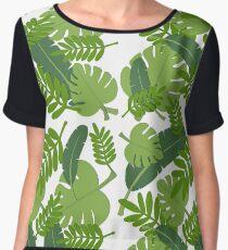 Greenery Women's Chiffon Top