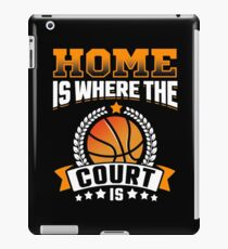 Home Is Where The Court Is iPad Case/Skin