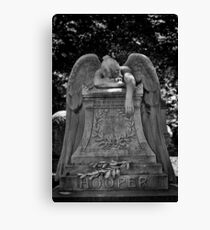 Weeping Angel.  Canvas Print