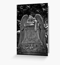 Weeping Angel.  Greeting Card