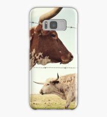 Texas Longhorn Cattle Samsung Galaxy Case/Skin