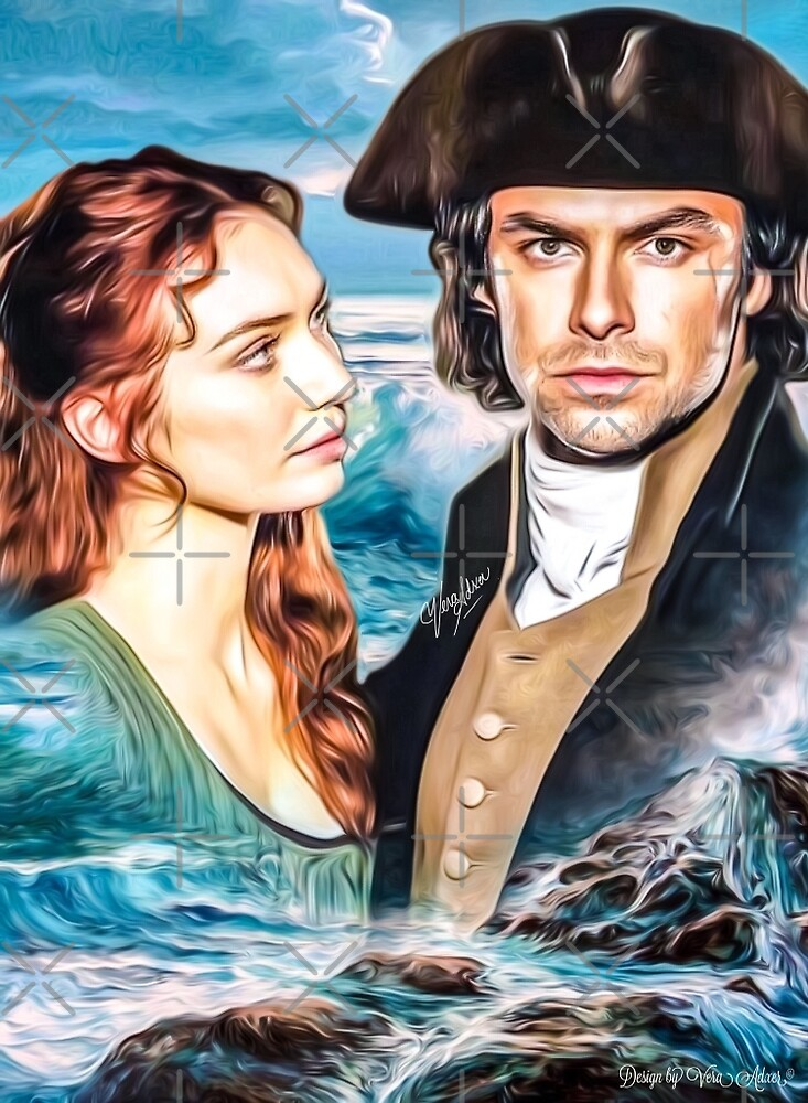 On The Sea Demelza & Ross by Vera-Adxer