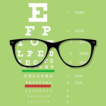 Eyeglasses Chart 01 by bigbraingirl