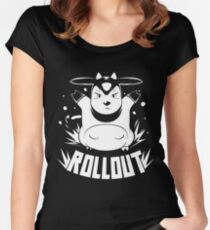 ROLLOUT Women's Fitted Scoop T-Shirt