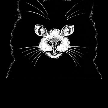 Cat Mouse - Optical Illusion  by ChevCholios